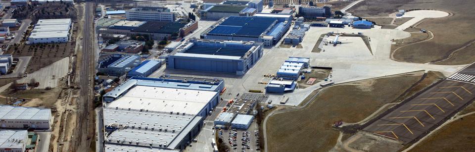 Airbus getafe centro neur lgico de la aviaci n comercial for Oficina de correos getafe