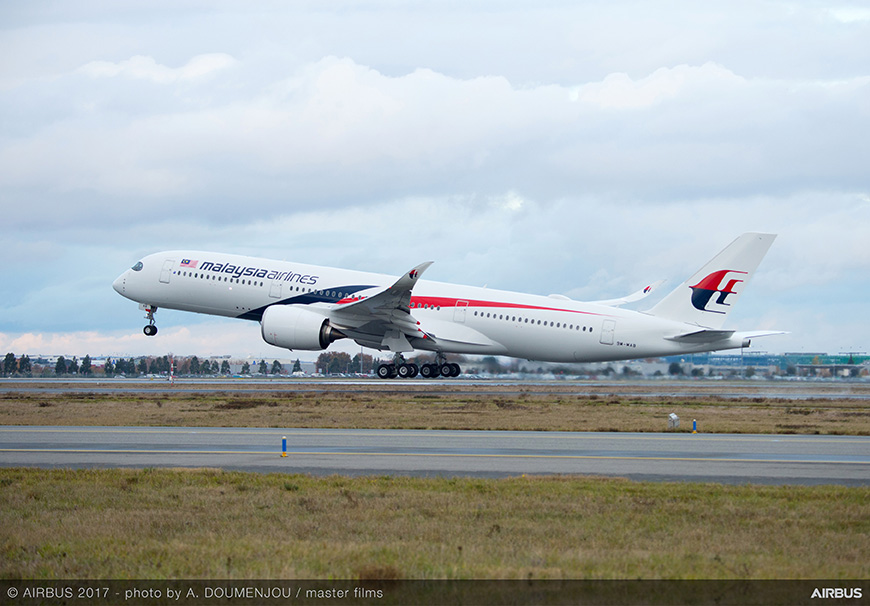 Malaysia-Airlinest-A350-XWB