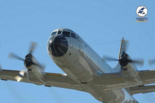 P-3 Orión Alfa P.3A-01. Foto: Ejército del Aire