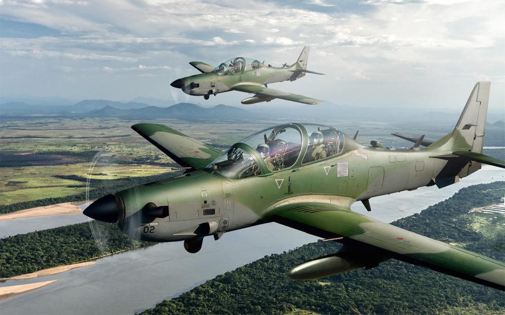 Fuerza Aérea Filipina Super Tucano