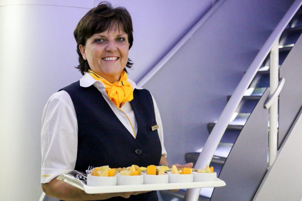 tripulantes de cabina de pasajeros Lufthansa