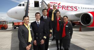 pilotos iberia express