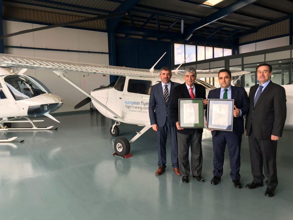 European Flyers entrega certificado ER y GA (2)