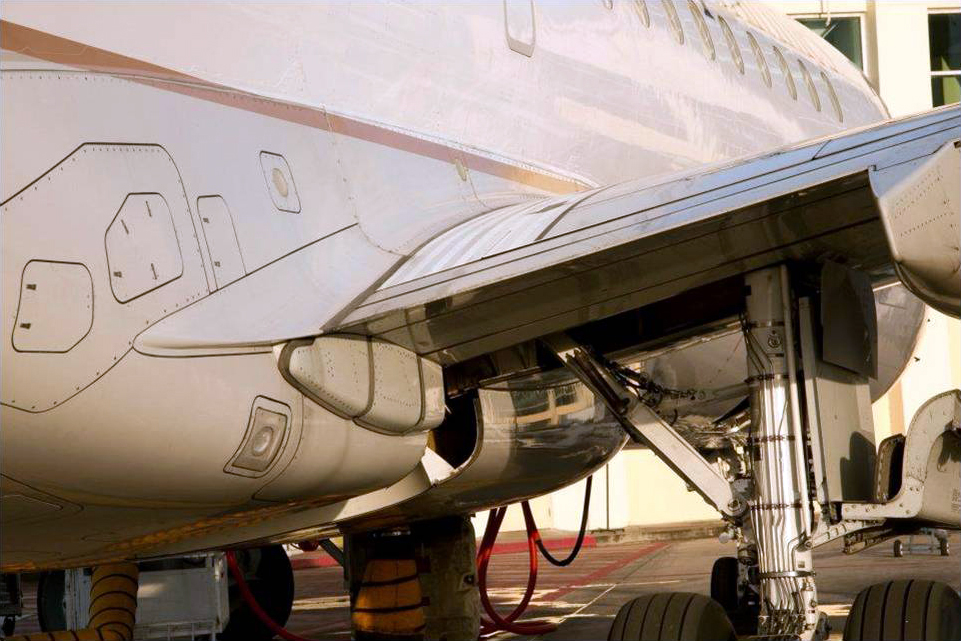 limpieza y mantenimiento aviones