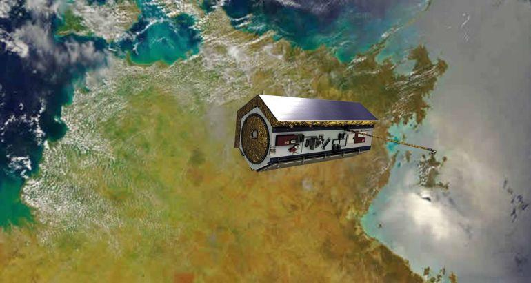 satelite PAZ en orbita