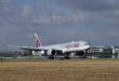 aterrizaje en Canberra