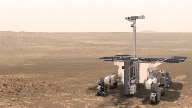 EXOMARS 2020 rover Lidax