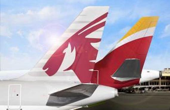 Iberia y Qatar vuelos en código compartido