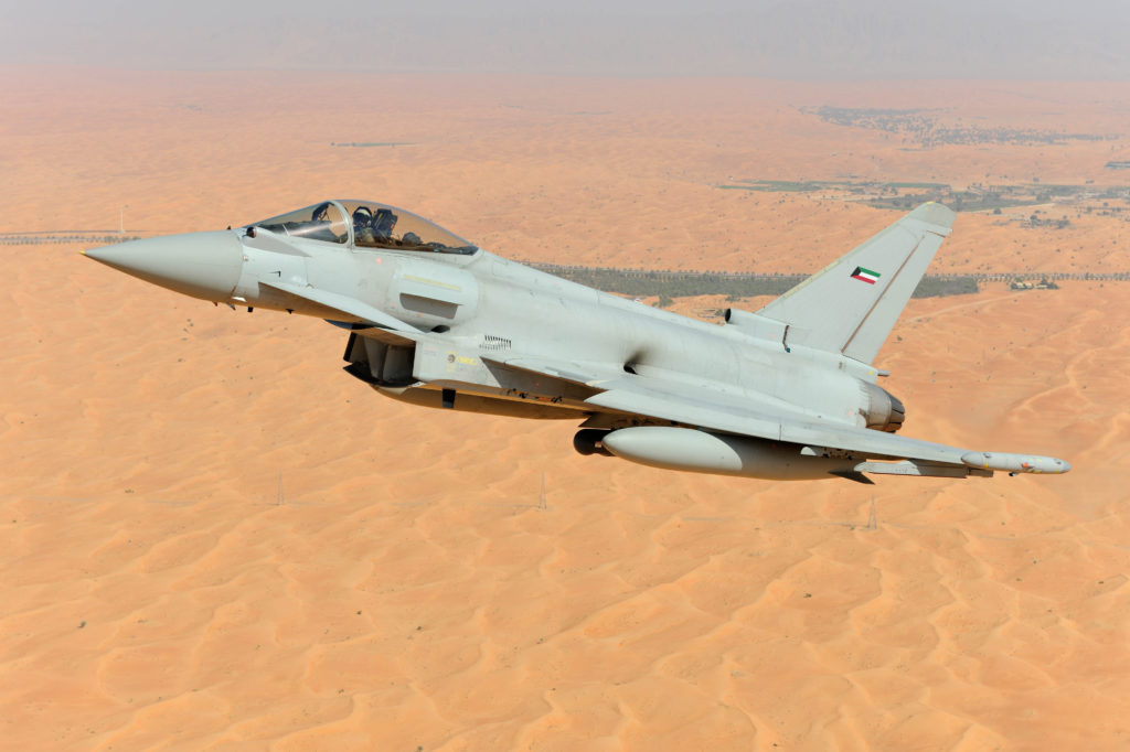 aviones de combate Eurofighter