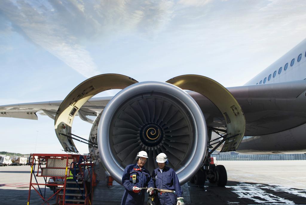aviones eficiencia limpieza