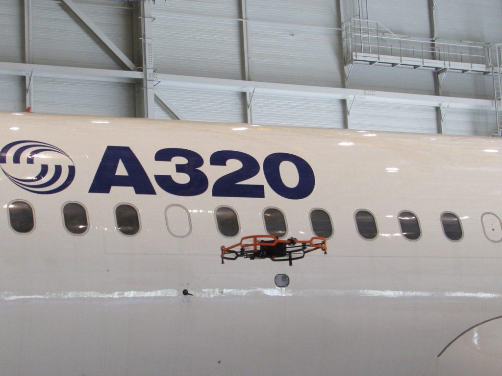 hangares drones inspeccion