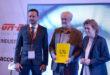 De izq. A dcha.: Enric Forner, CEO de Global Robot Expo; Luis Cueto, Coordinador General de la Alcaldía del Ayuntamiento de Madrid; y Teresa Palahí, Secretaria General de la Fundación ONCE.