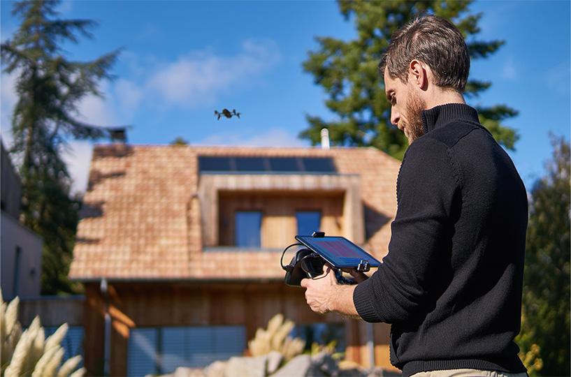 Piloto de drones con Parrot