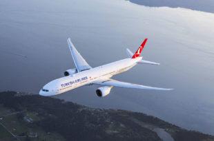 Turkish Airlines Boeing 777-300ER. foto: Chad Slattery.