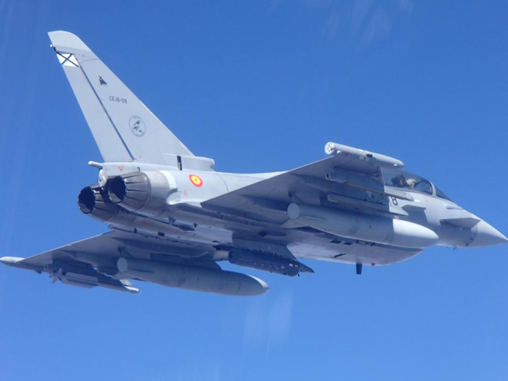 Eurofighter del Ejército del Aire Español. Foto: Ejército del Aire