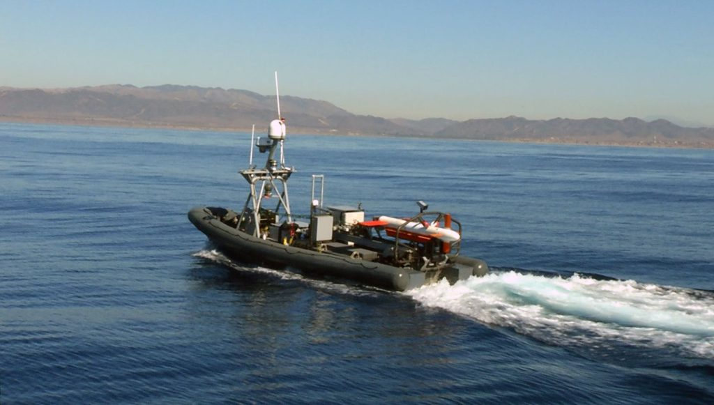USV (Unmanned Surface Vehicle ) Halcyon