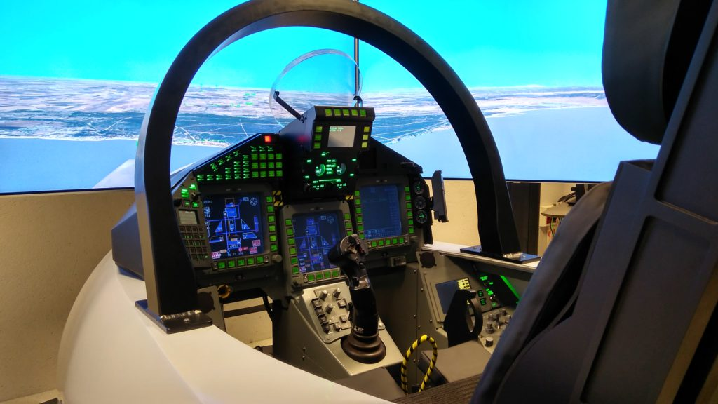 simulación militar Eurofighter