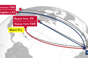 Nueva ruta Miami Madrid de Norwegian