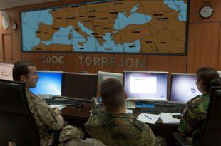 CAOC Torrejón. Foto: Ministerio de Defensa Español