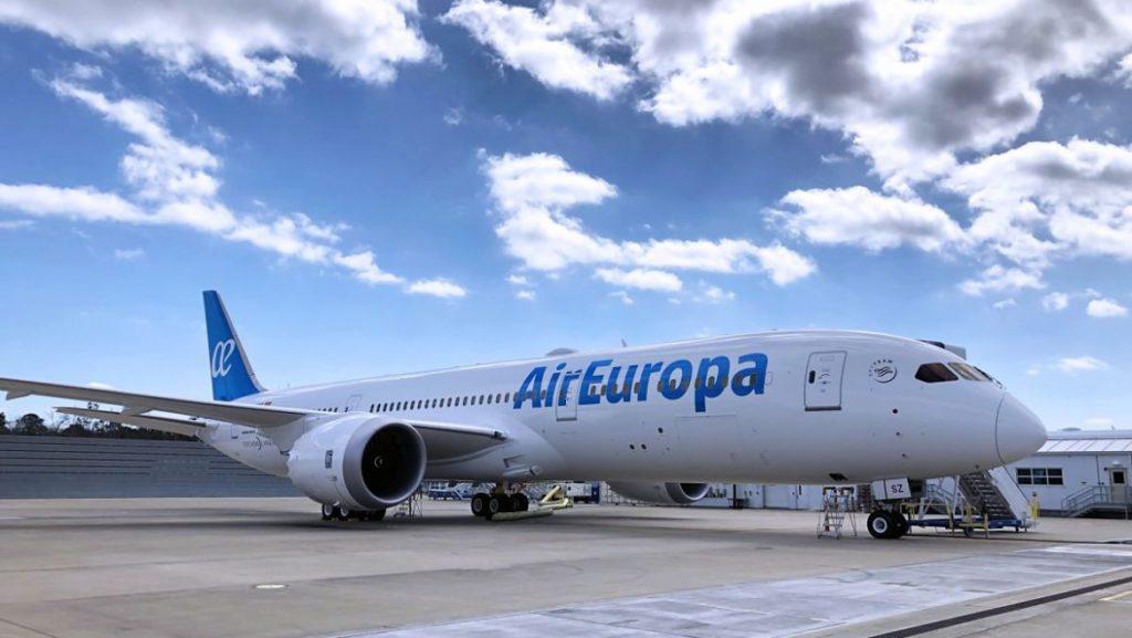 Primer Dreamliner B-787-9. foto Air Europa