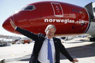 Bjørn Kjos, fundador y consejero delegado de Norwegian.