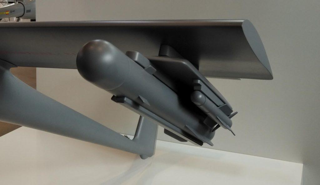 Ejemplo de armamento con misiles de bajo coste (MBDA)