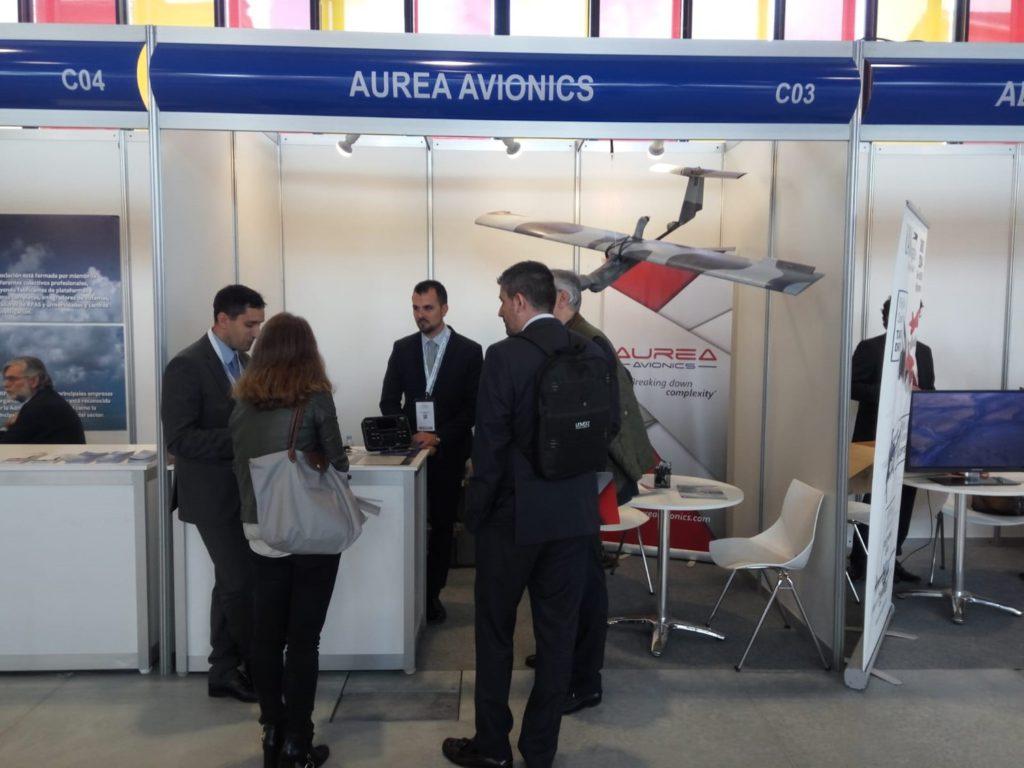 Stand de Aurea Avionics en el UNVEX S&D 2018