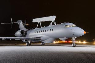 GlobalEye on runway 1
