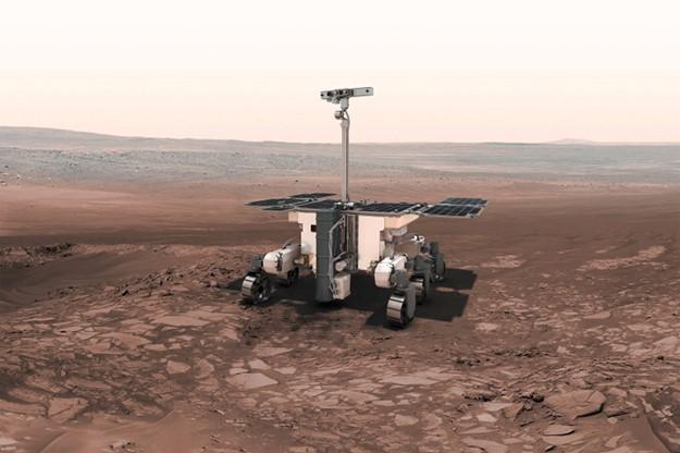 Rover de la misión ExoMars 2020 (ESA).