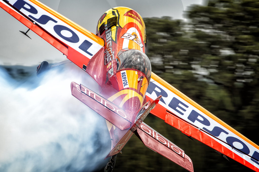 21º campeonato de Europa vuelo acrobático