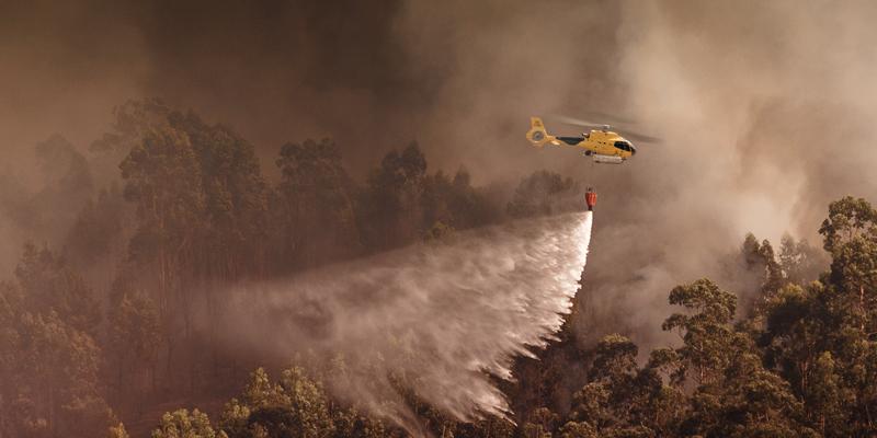 El pasado 21 de junio la compañía incrementaba en dos nuevos helicópteros su flota aérea para la Lucha Contra Incendios (LCI). Foto: Eliance.