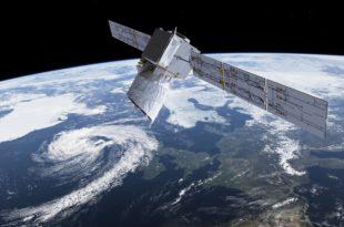 Gráfico de la misión Aeolus. (ESA)