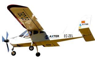 axter aerospace avion ligero electrico