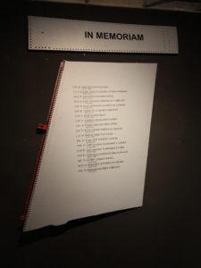 In Memoriam de los pilotos del ALA caídos