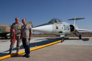 Silvio Fdez con el Cabo 1º Gracia