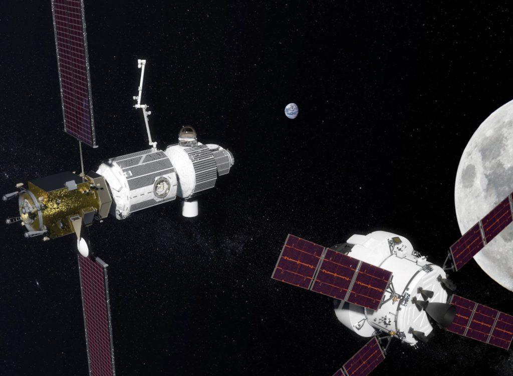 Lunar Orbital Platform ©NASA