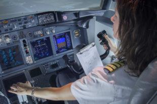 Simulador de B737 de Airpoint.