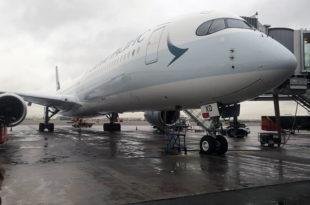 Cathay Pacific, la primera aerolínea que opera el Airbus A350-1000 en España