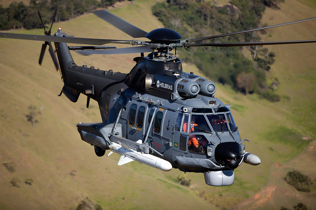 Airbus Military H225M combat helicopter. Photo: Eny Miranda