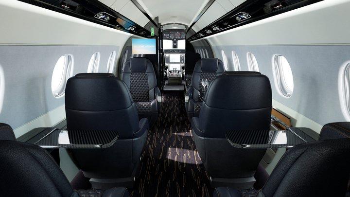 Praetor 500 Interior