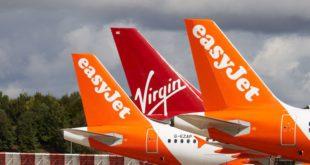 Virgin Atlantic y easyJet