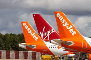 Virgin Atlantic y easyJet
