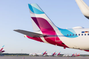 Airbus A320 de Eurowings.