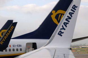 ganancias de Ryanair caen un 7% aun habiendo facturado un 8% más