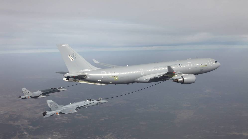 Airbus pujará con el tanquero A330MRTT por los 200 aviones de la USAF.