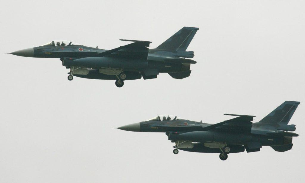 Caza japonés  F-2 (Kazuhiro Nogi/AFP)