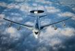 UTAH ANG refuels NATO E-3A