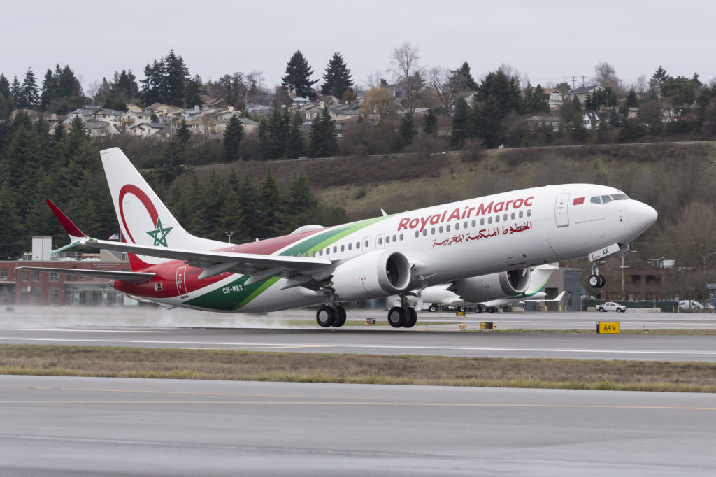 Royal Air Maroc 737 MAX 8