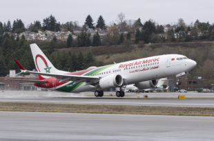 Royal Air Maroc 737 MAX 8