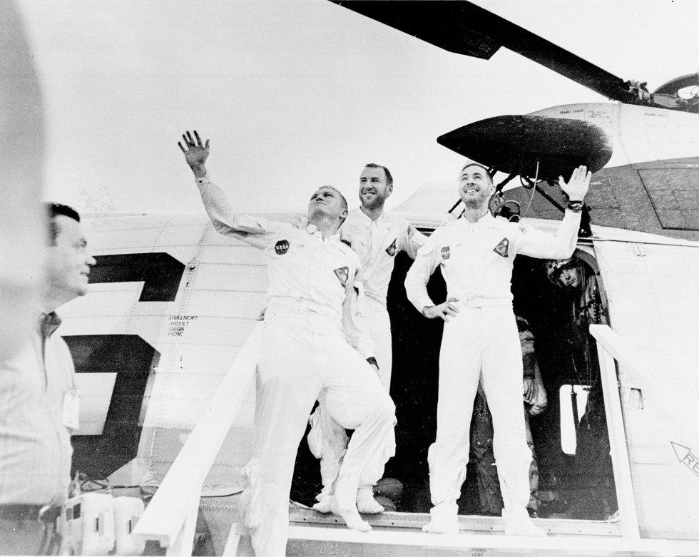 recuperacion Apolo 8